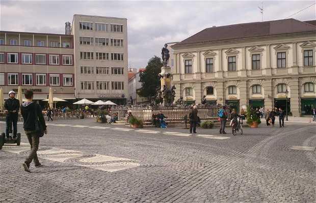 Place principale d'Augsburg