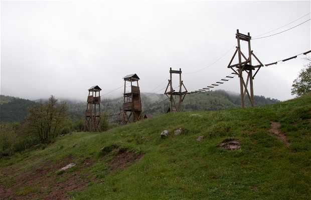 Parque de aventuras de Lumbreras