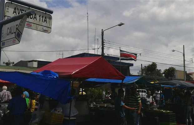 Mercado de los Sábados, San Rafael de Oreamuno, Cartago
