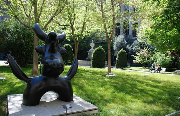 Jardín del Museo Reina Sofía