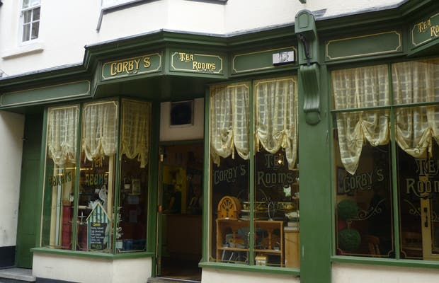 Corby's Tea Room