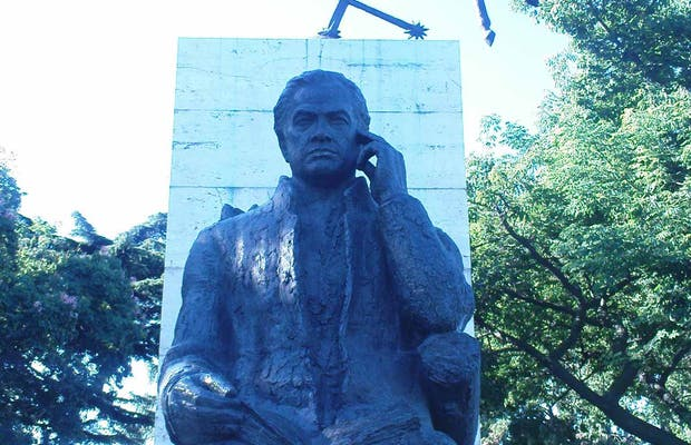 Monumento 'Canto a la Argentina' de Rubén Darío