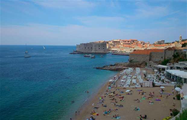 Praias de Dubrovnik