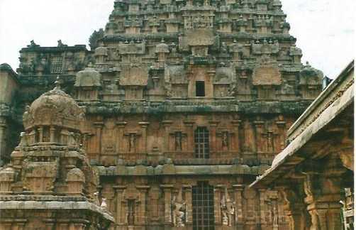 El Vimana de Brihadishvara Temple