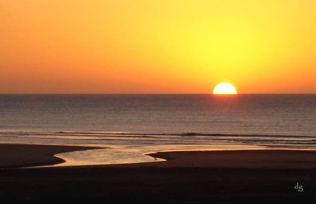 Dawn in Claromecó
