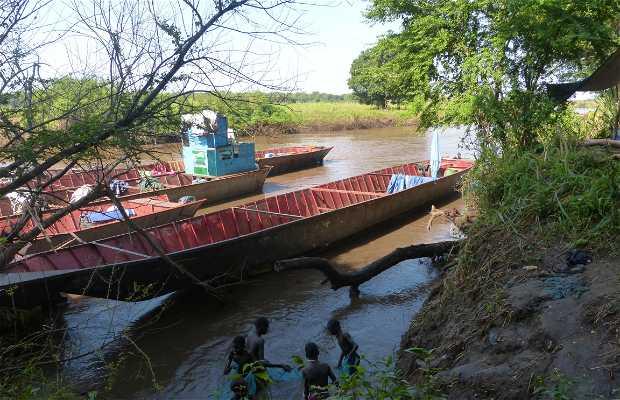 Puerto fluvial de Gambella