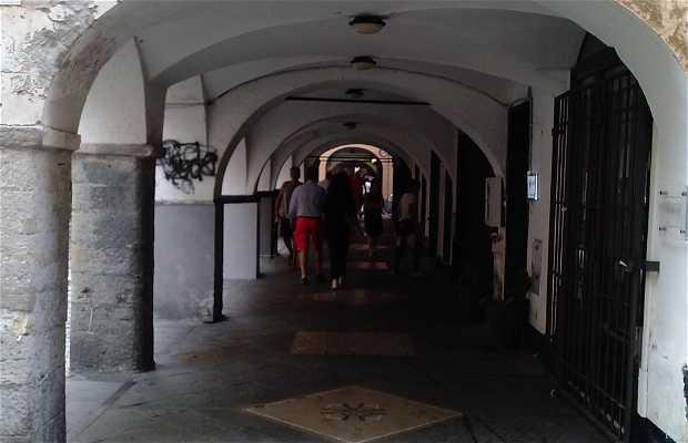 Portici del centro storico