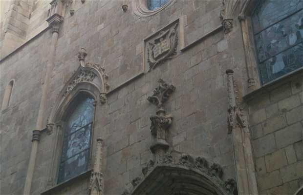 L'église Saint Jaume
