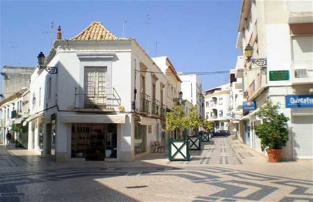Shopping Streets of Faro