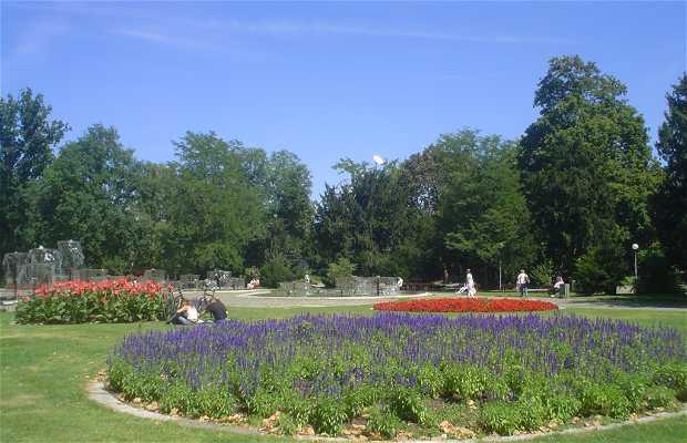 Les Jardins du château - Schlossgarten