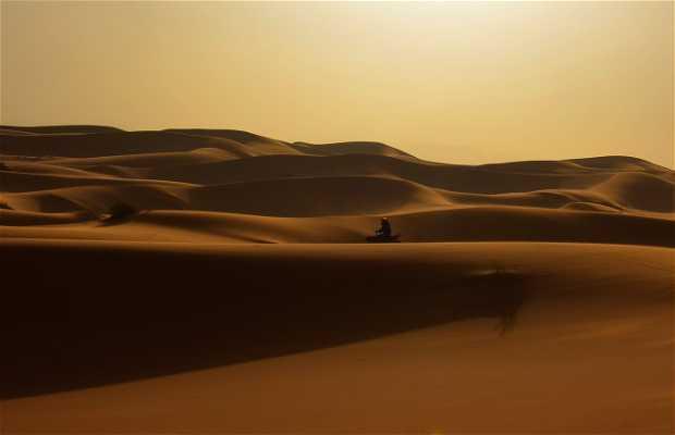 Quad por las dunas de Merzouga