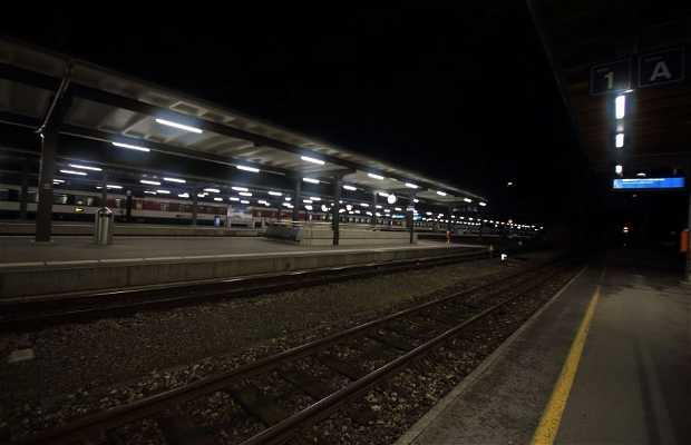 Estaciones ferroviarias en Interlaken