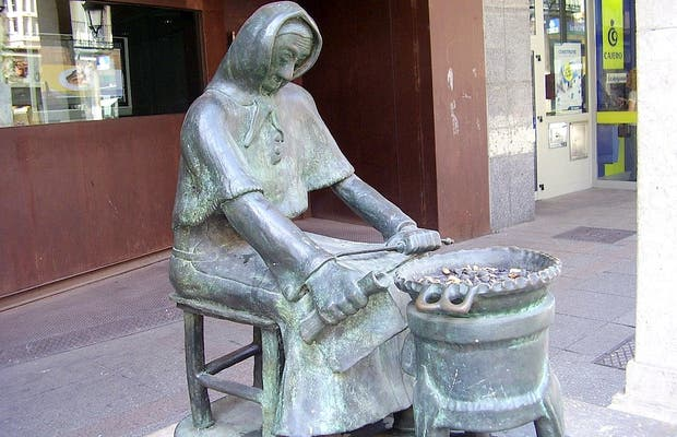 La sculpture de La Castañera