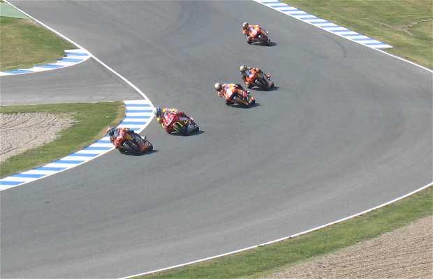 Circuito Jerez : Adhesive with logo of jerez circuit angel nieto