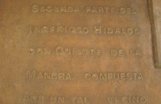 Homenaje a Miguel de Cervantes