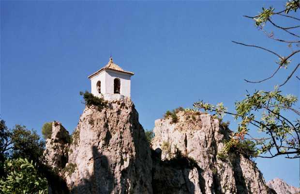 Le panorama depuis le Château de Guadalest