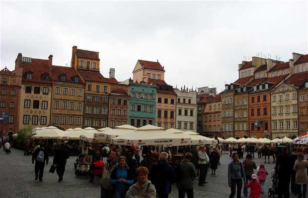 Place du marché de la vieille ville