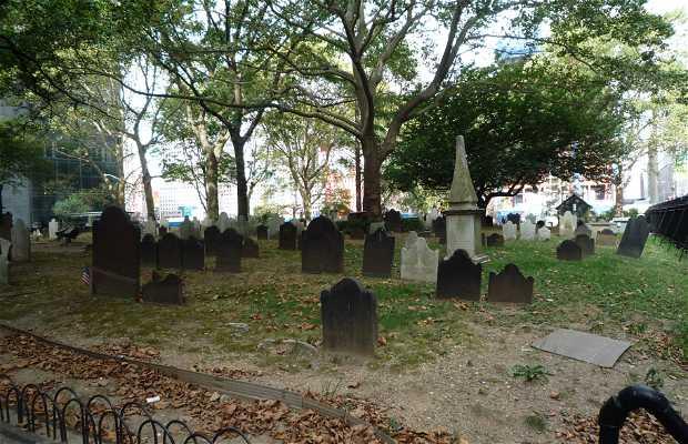 Cementerio de St. Paul´s Chapel