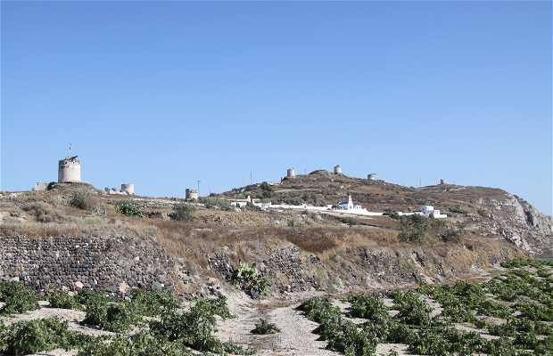 Ruinas de los molinos de Emborio