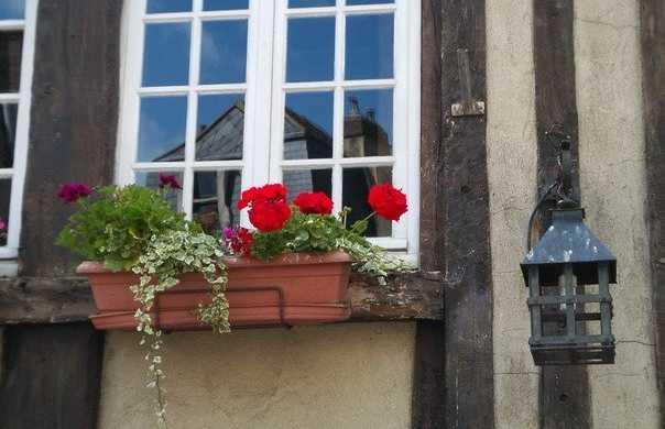 Casas típicas de Caen
