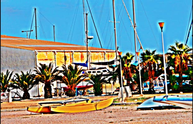 Shipyard Santa Pola