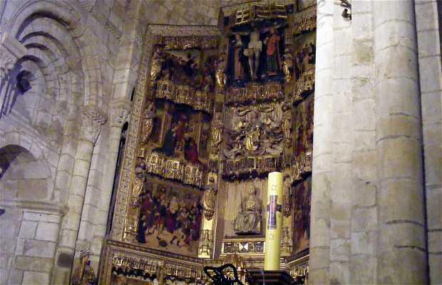 Interior de la iglesia de la Colegiata