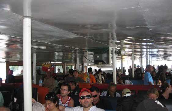 Ferry de Bali a Lombok