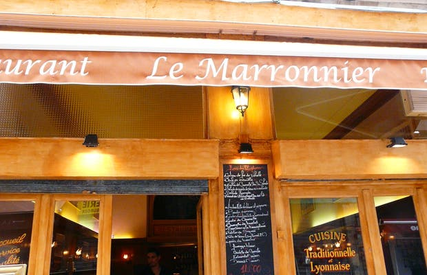 Restaurante Le marronnier