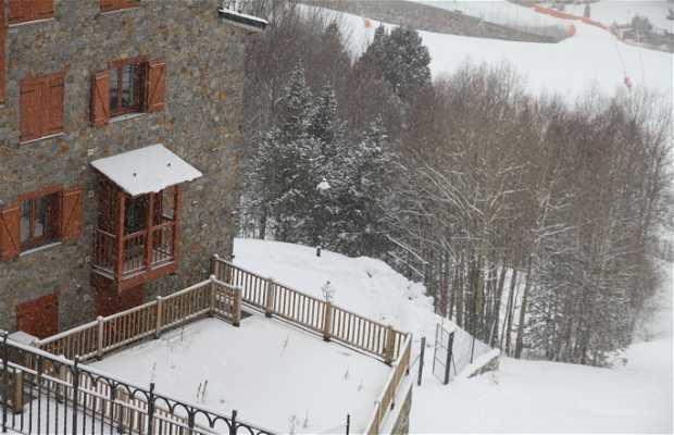 Pistas de esquí del hotel Canaró