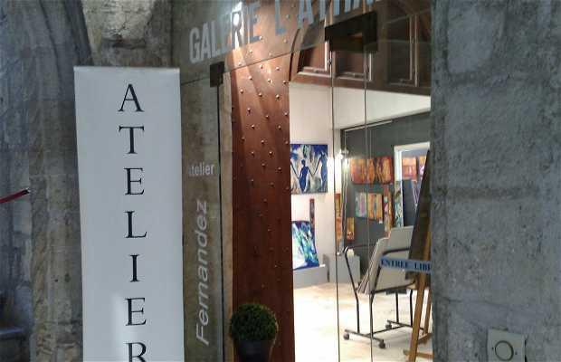 Galería L'Athanor - Atelier Nicole Fernández