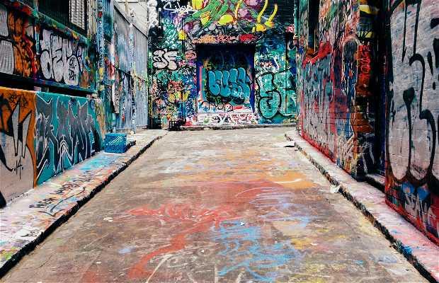 Art street, melbourne