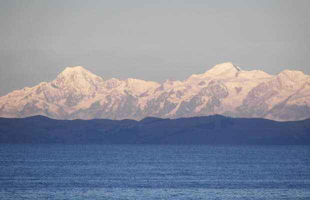 The majestic Titicaca lake
