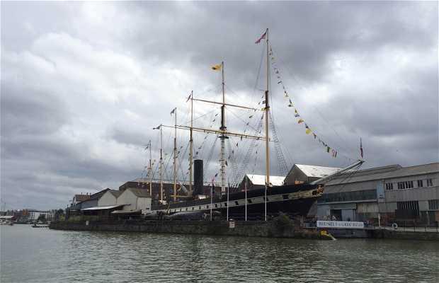Transatlántico Brunel's ss Great Britain