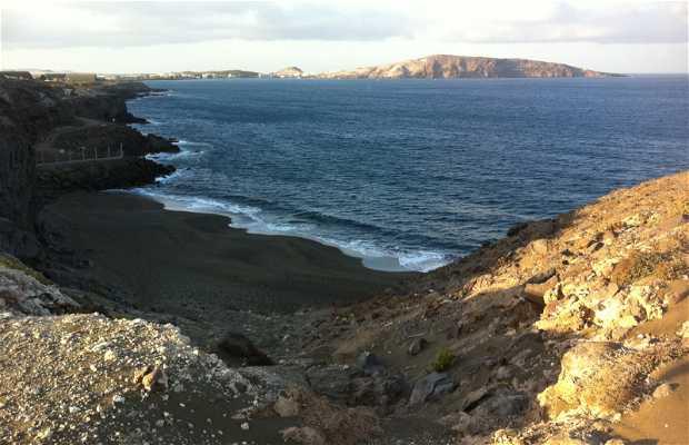 Playa De Atrás