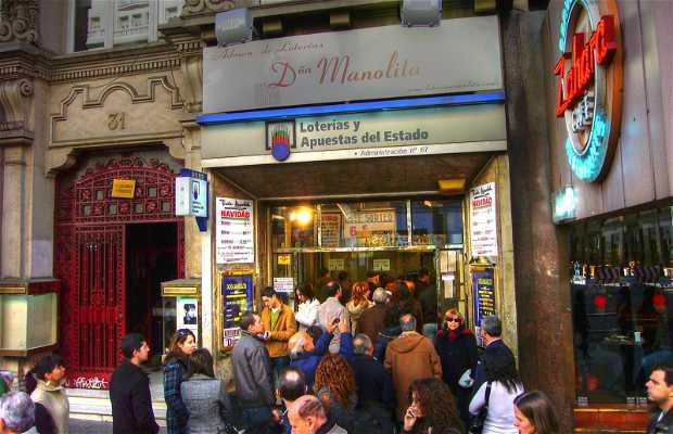 Doña Manolita a Madrid
