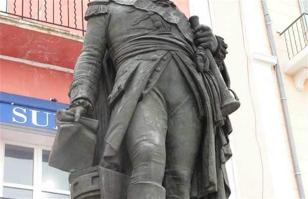 Estatua del Bailli de Suffren