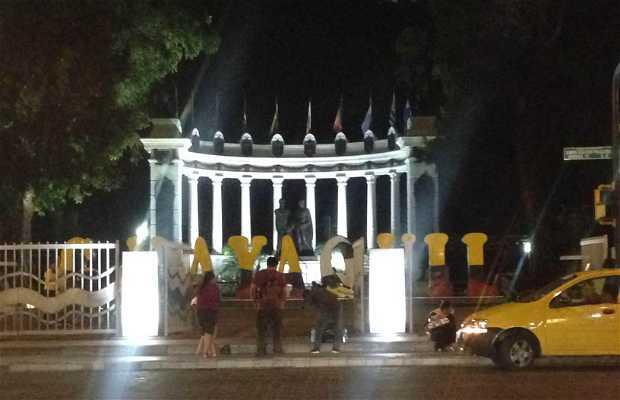 Monumento a Bolívar y San Martín