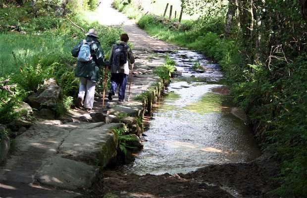 Camino de Santiago. Etapa Sarria-Portomarin