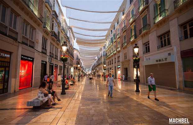 Via Marqués de Larios a Malaga
