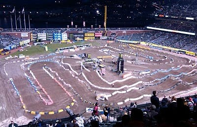 Supercross at AT&T Park