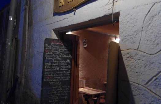 La pizzeria El Charrua