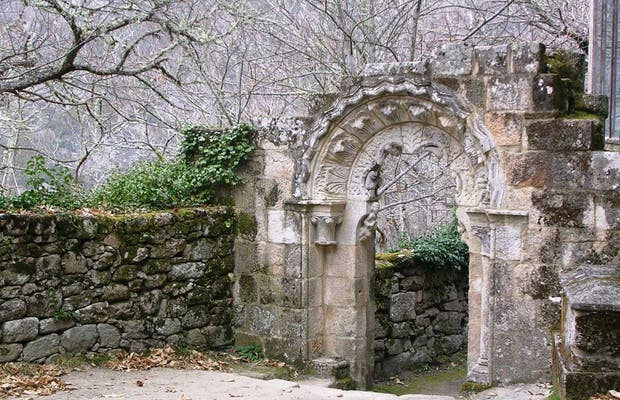 Monastery of Santa Cristina in Ribas de Sil