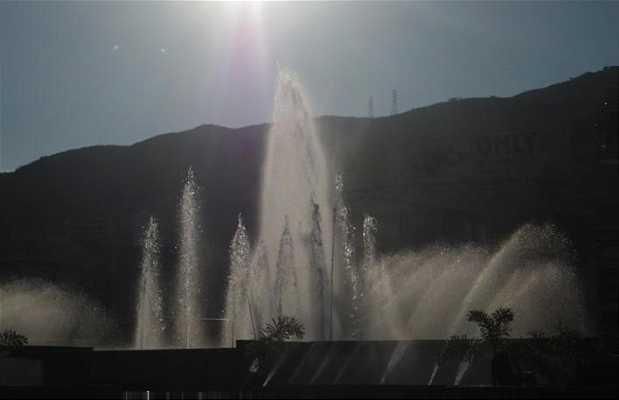 Fuente torre de Cali