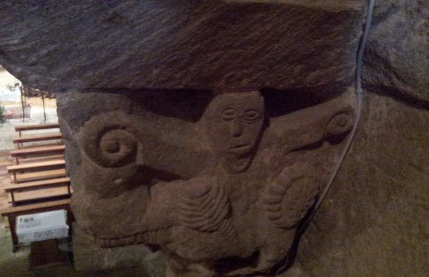 Cripta Románica en Orinsoain