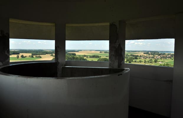 The water tower - observatory of Giffaumont Champaubert