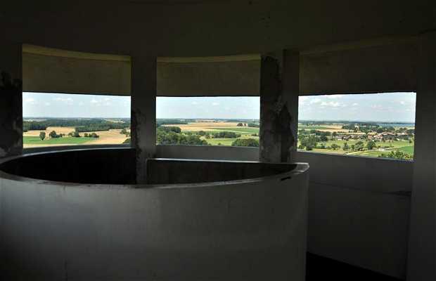 Torre de agua observatorio de Giffaumont Champaubert