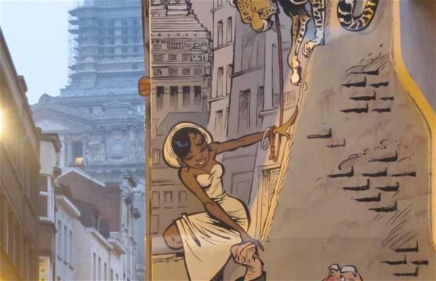 Mural de Odilon Verjus - Verron & Yann