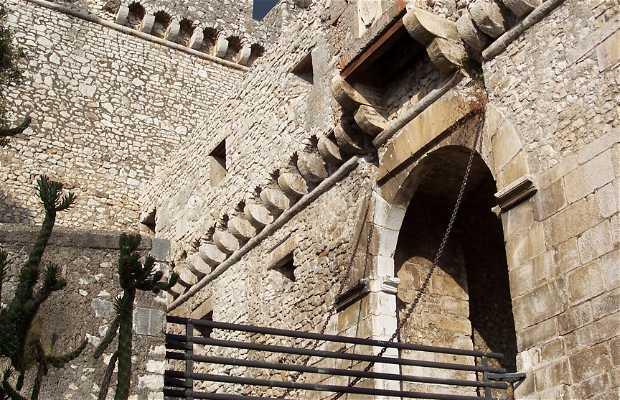 Château Caetani à Sermoneta