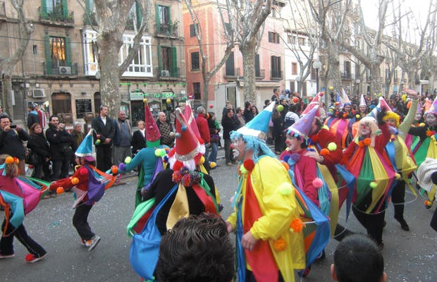 La Rua en carnavales