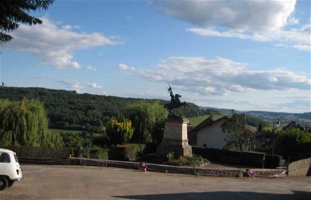La statue de Jeanne d'Arc